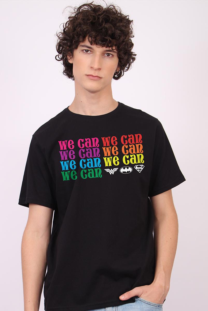 Camiseta Masculina We Can Mini Logo