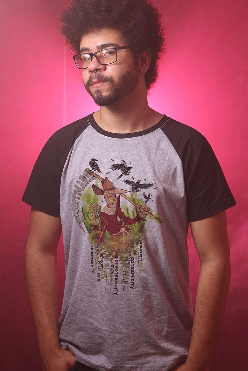 Camiseta Raglan Masculina O Espantalho