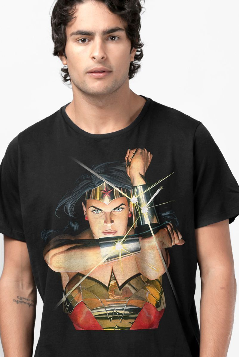 Camiseta Wonder Woman Action
