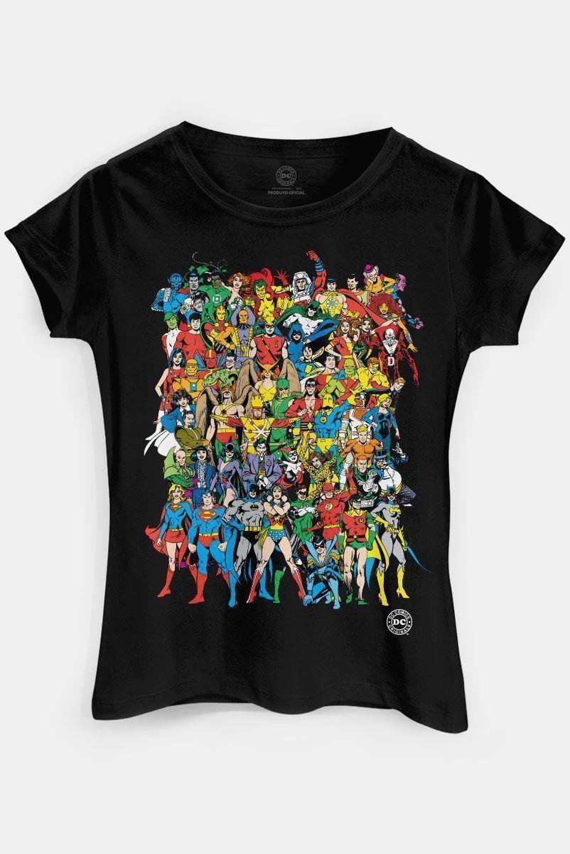 Camiseta Feminina DC Comics Originals