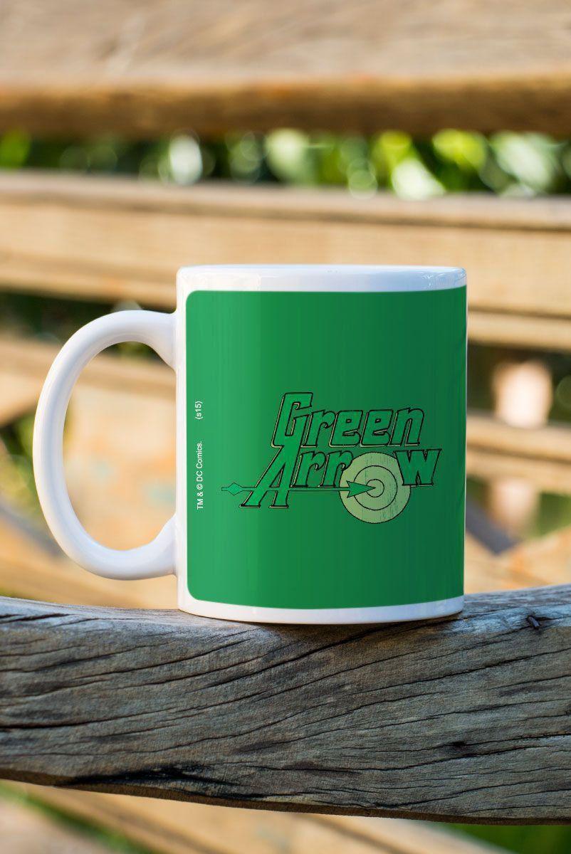 Caneca Arqueiro Verde Flechas