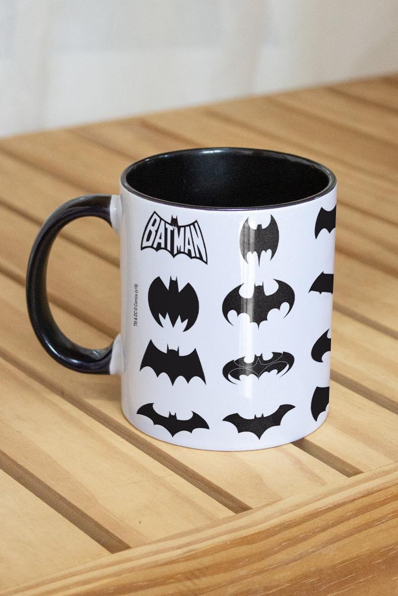 Caneca Batman Logos Collection