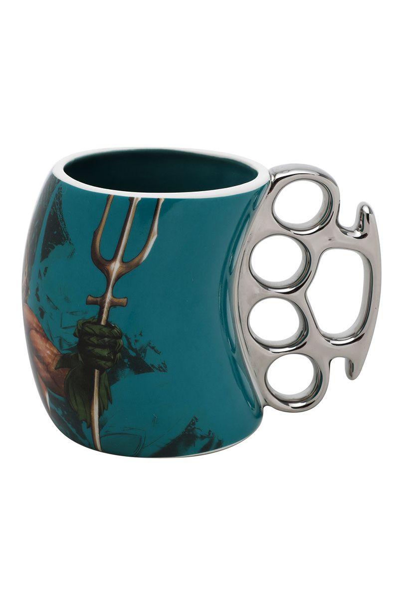 Caneca de Porcelana Soco Aquaman Movie Character