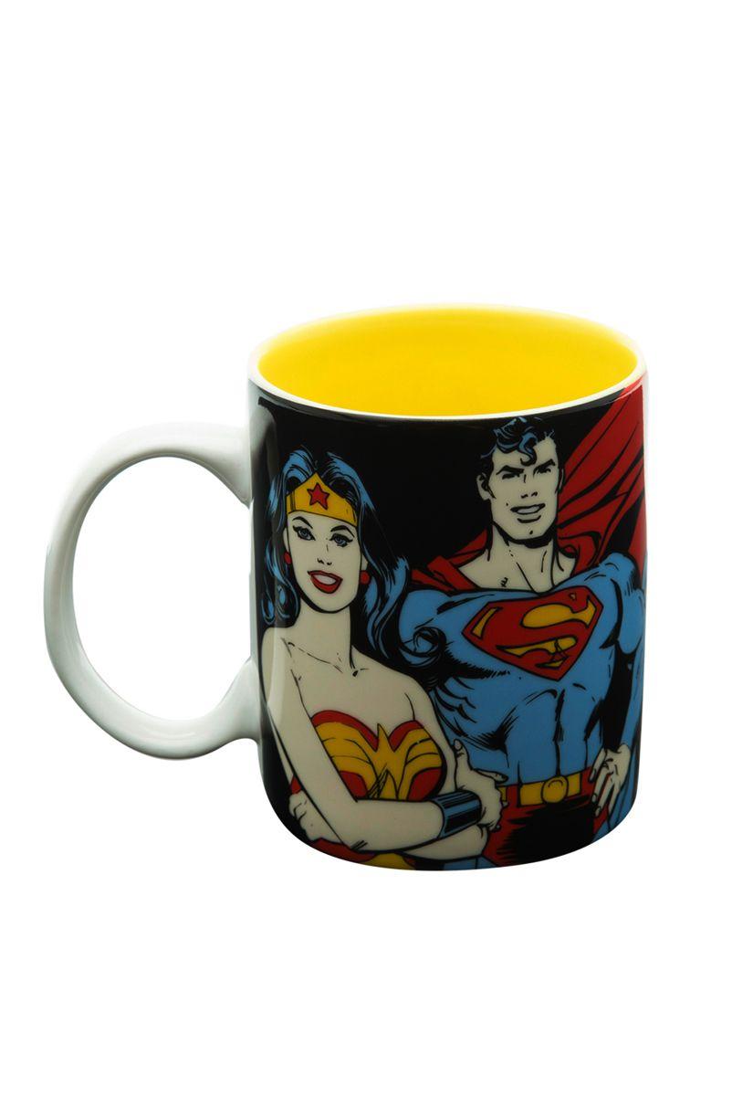 Caneca de Porcelana Super Heróis