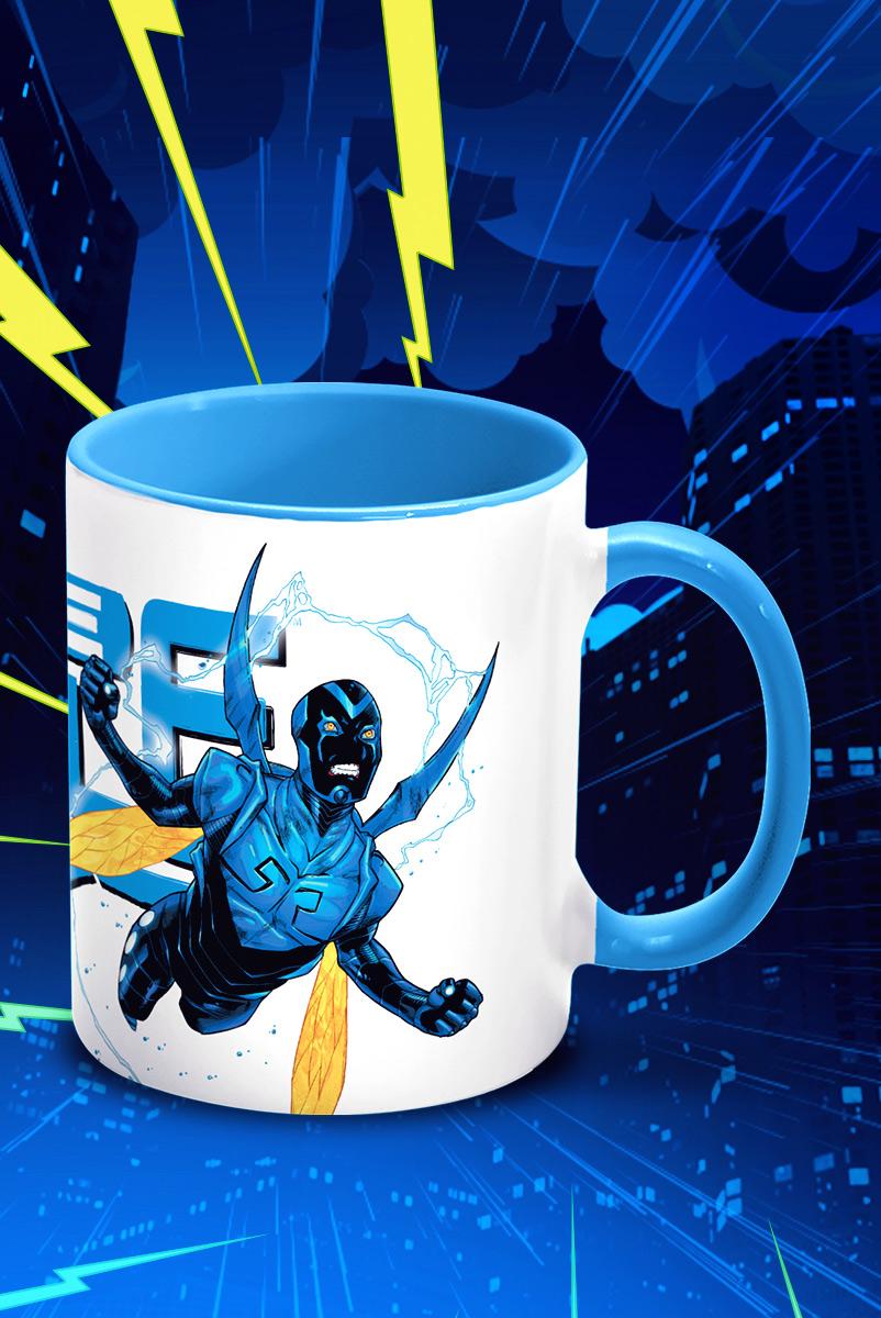 Caneca FanDome 2021 Besouro Azul Fly