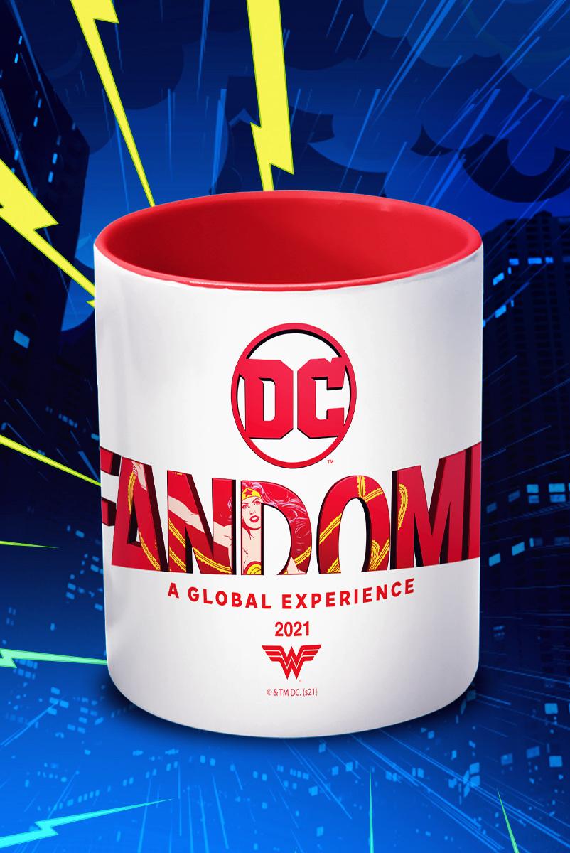 Caneca FanDome 2021 Logo Mulher Maravilha