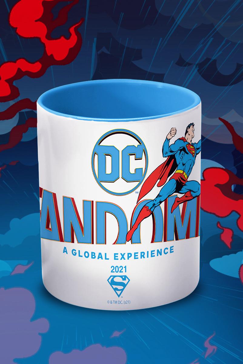 Caneca FanDome 2021 Superman