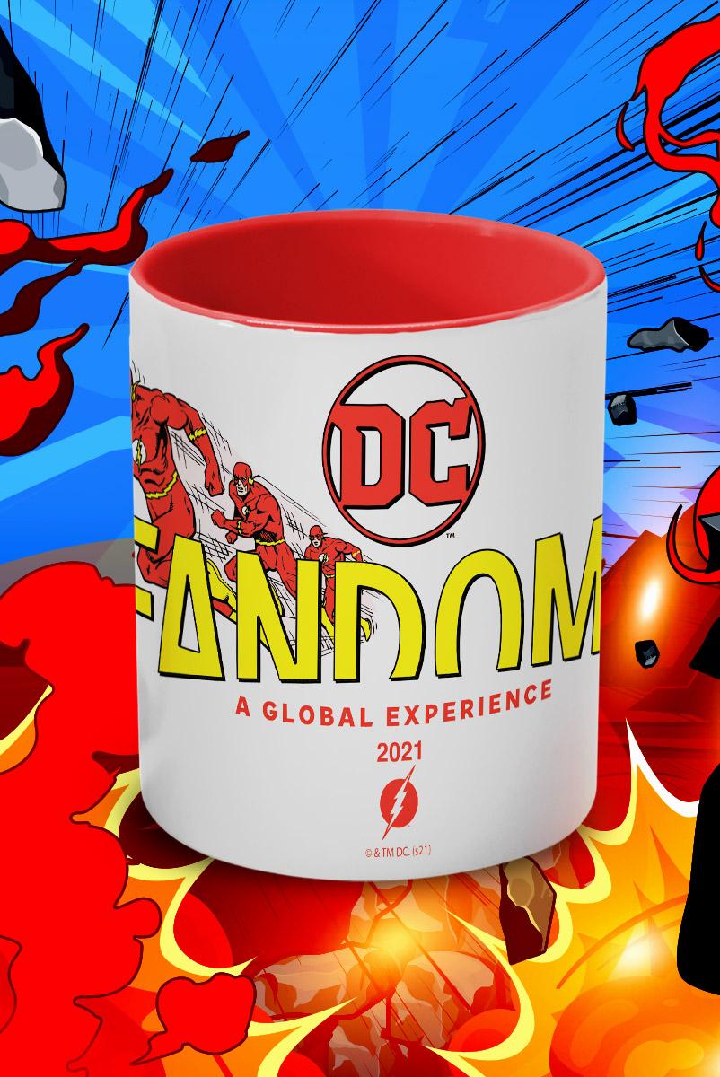 Caneca FanDome 2021 The Flash