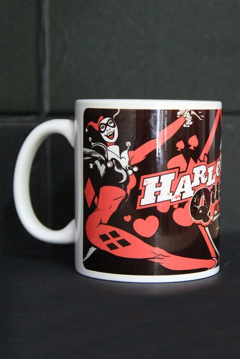 Caneca Harley Quinn Comic