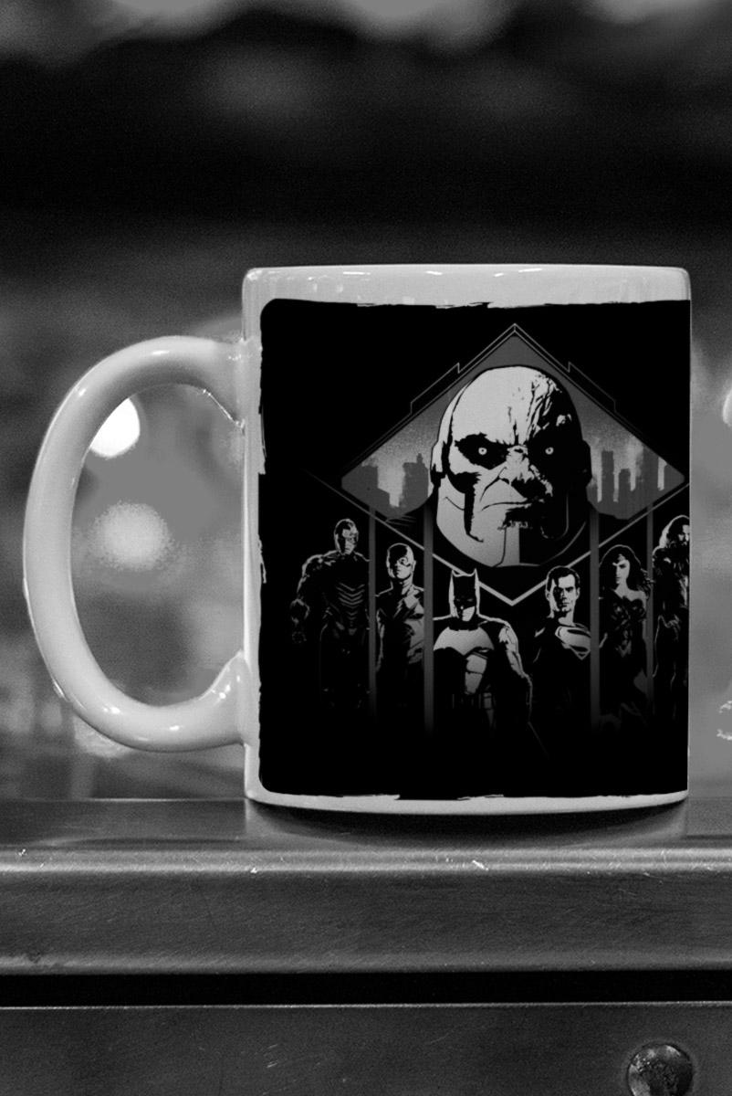 Caneca Liga da Justiça Snyder Cut - Darkseid vs Liga