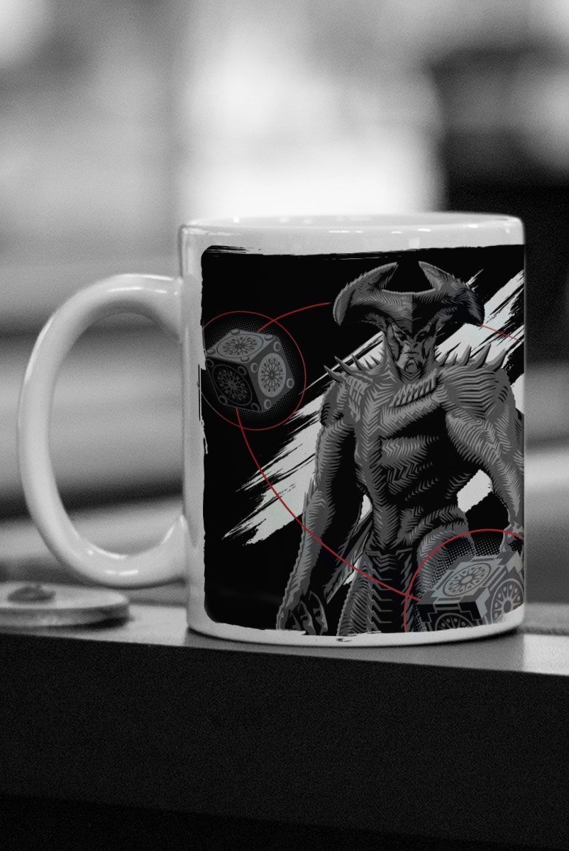 Caneca Liga da Justiça Snyder Cut - Steppenwolf