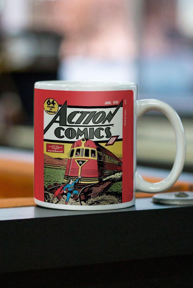 Caneca Superman Action Comics