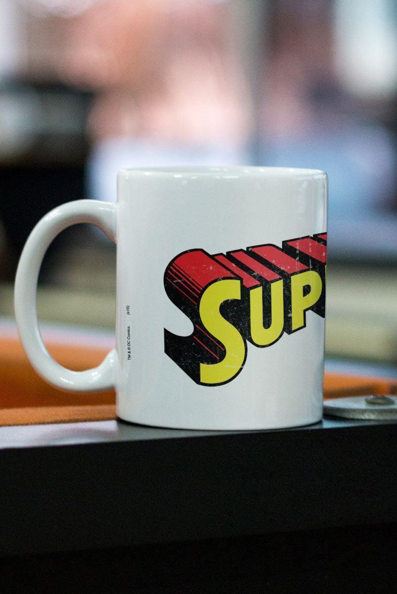 Caneca Superman Logo Clássico