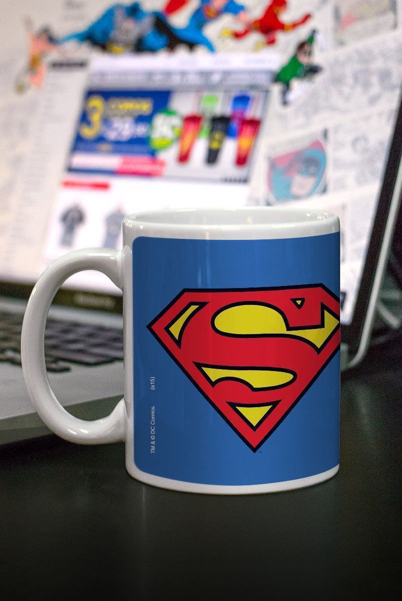 Caneca Superman Logo Oficial