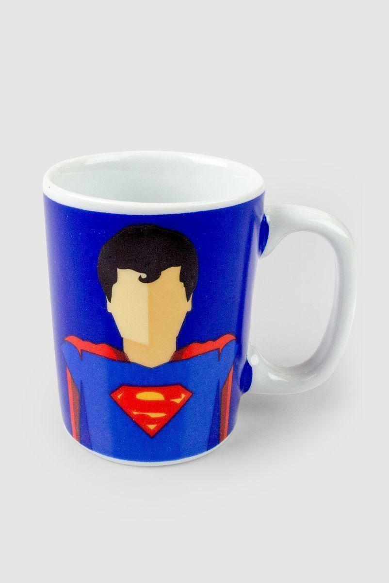 Mini Caneca Superman Flat