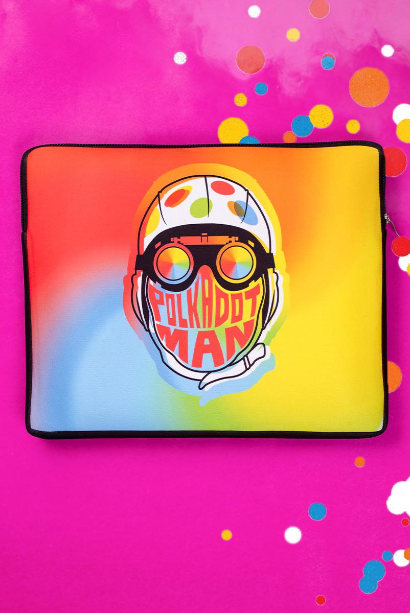 Capa de Notebook Esquadrão Suicida Polkadot Man Face
