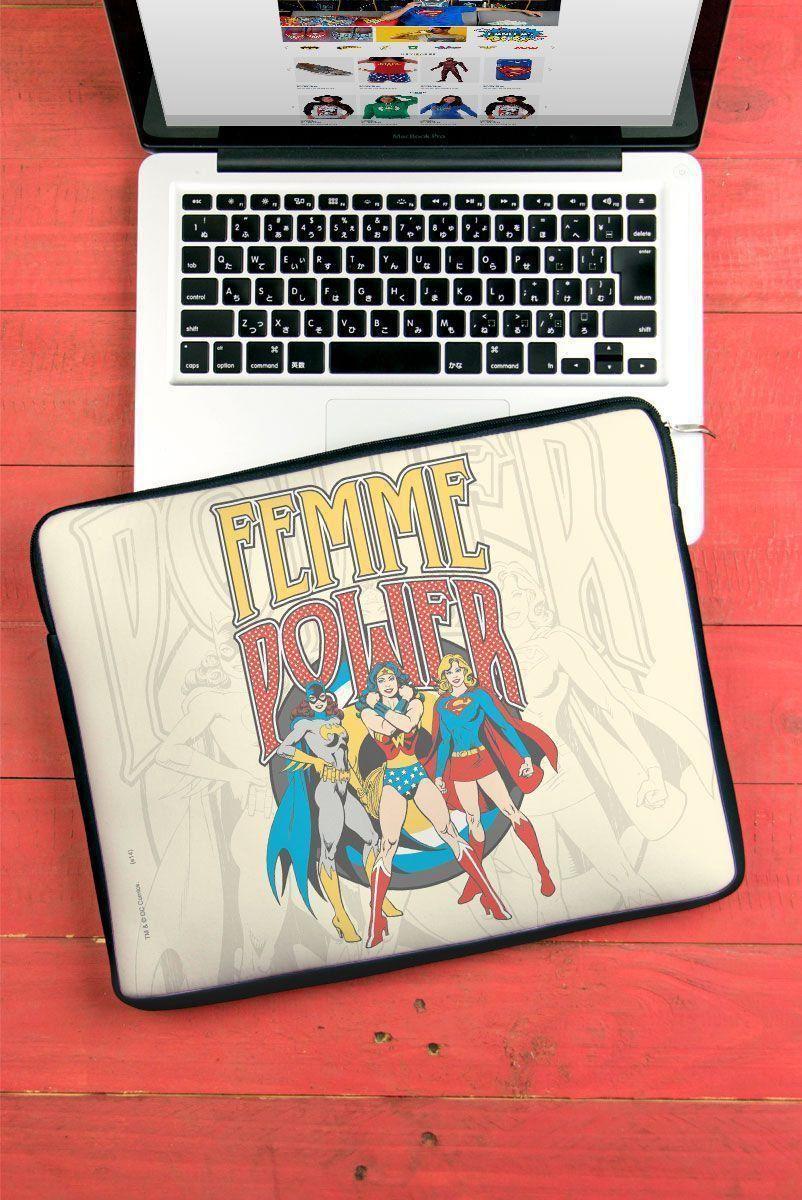 Capa de Notebook Power Girls Femme Power