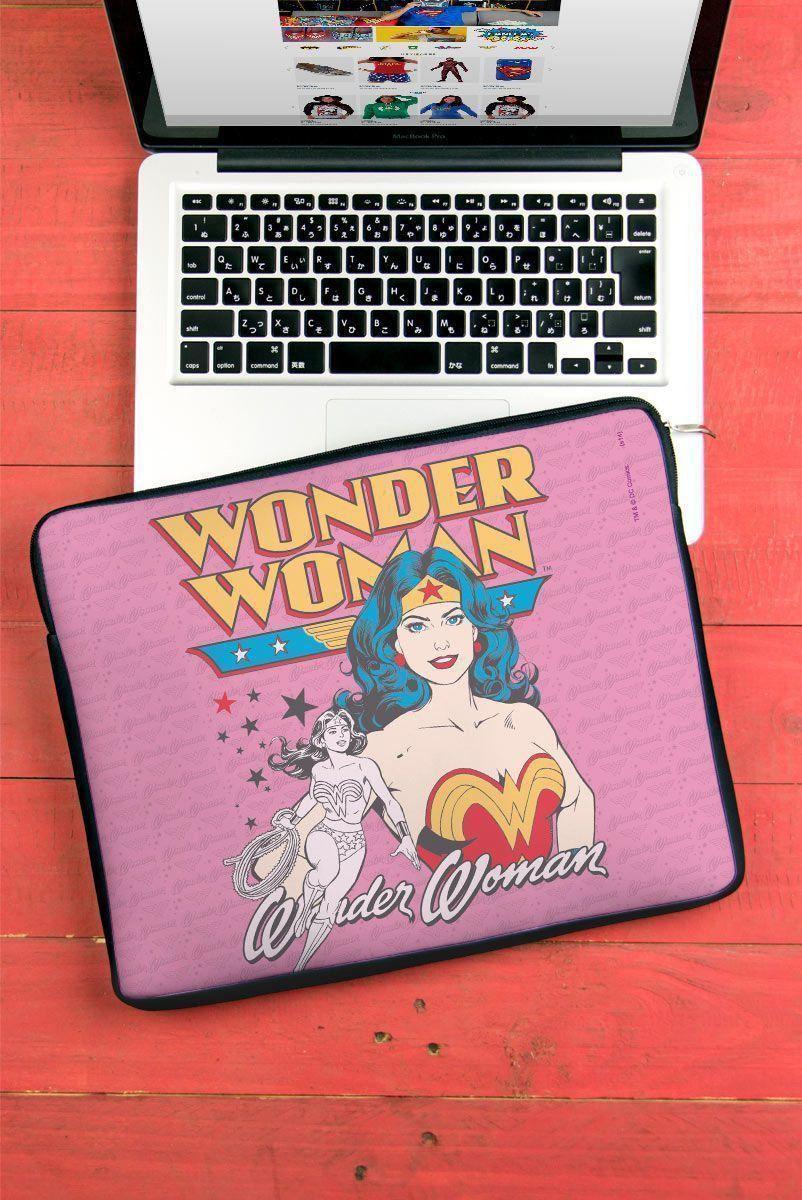 Capa de Notebook Power Girls Mulher Maravilha