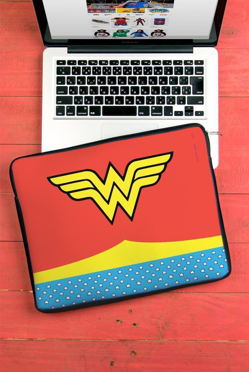 Capa de Notebook Power Girls Mulher Maravilha Clothes