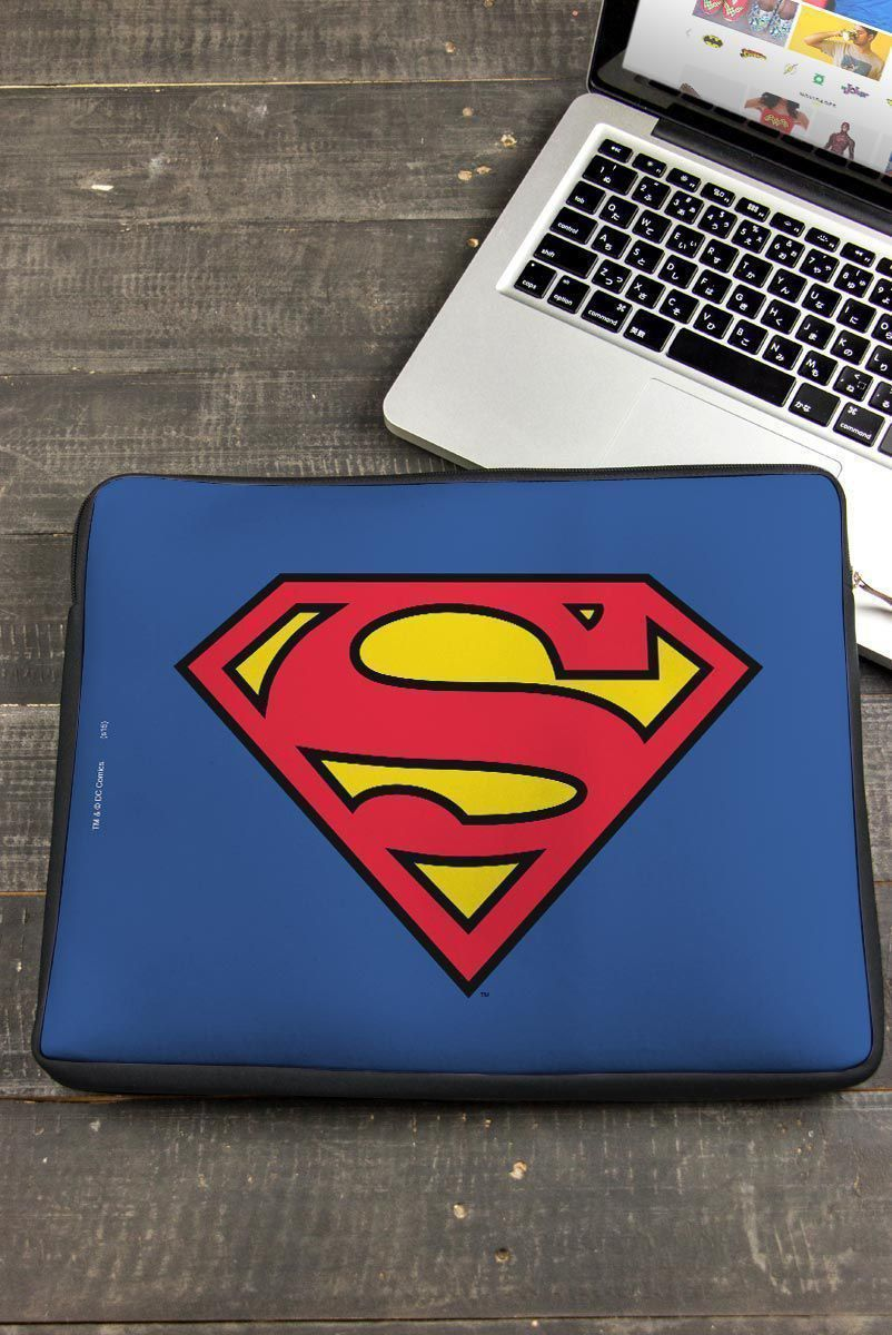 Capa de Notebook Logo Superman Oficial