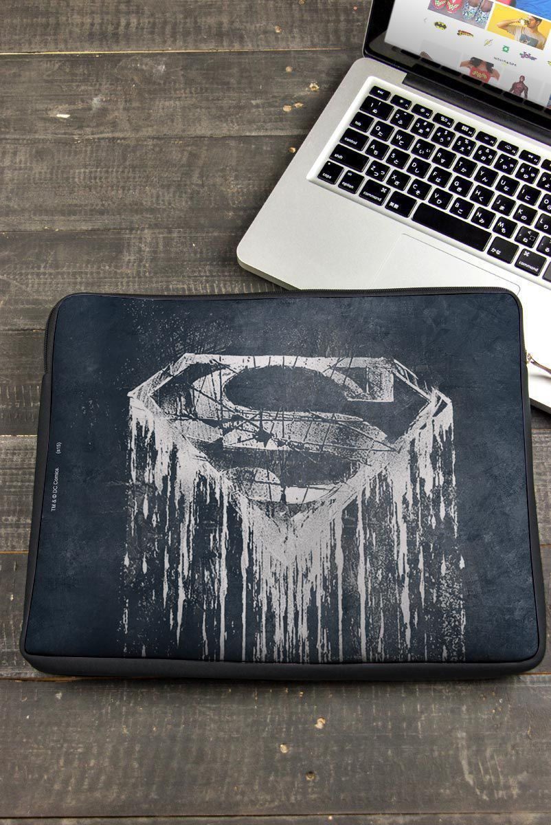 Capa de Notebook Superman Steel Melting