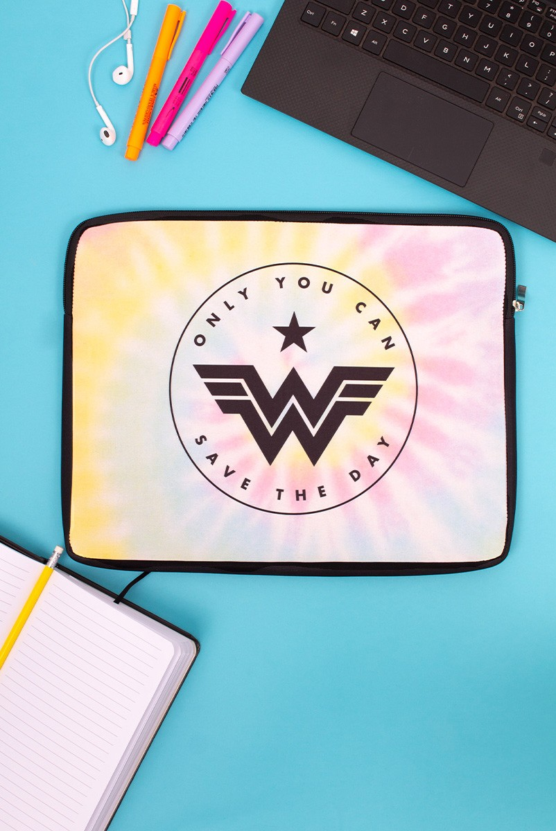 Capa de Notebook Wonder Woman Only You Can Save The Day