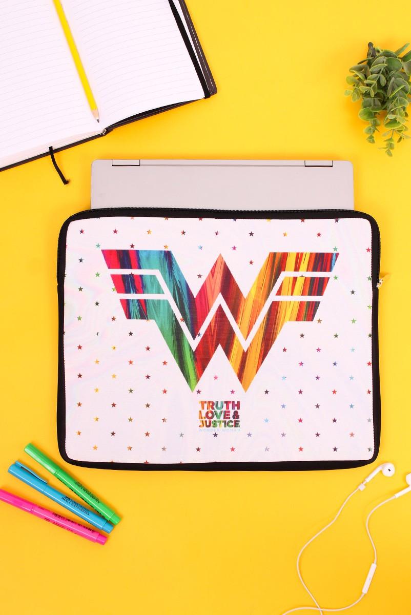 Capa de Notebook Wonder Woman Truth Love & Justice