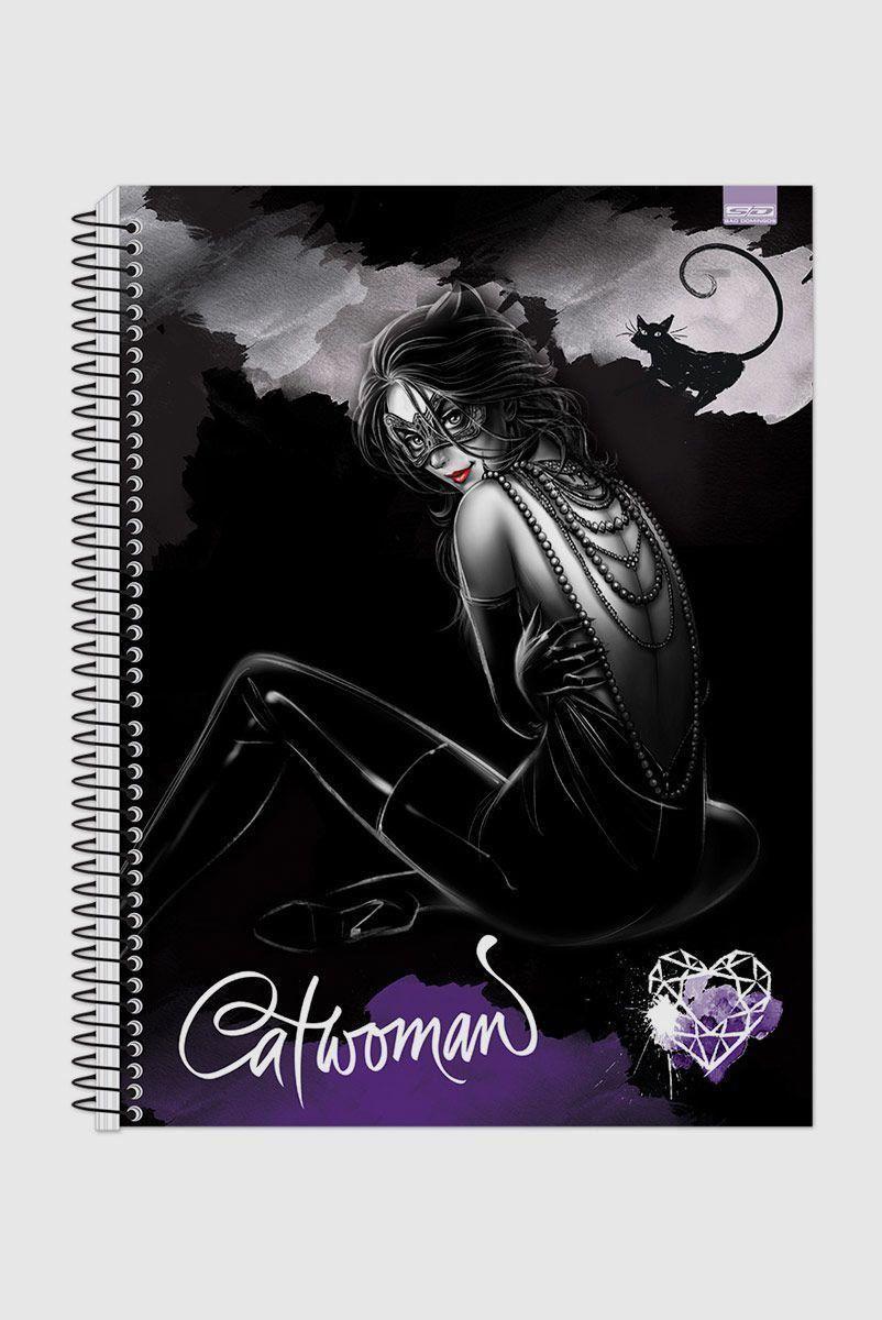 Caderno Catwoman Heart 1 Matéria