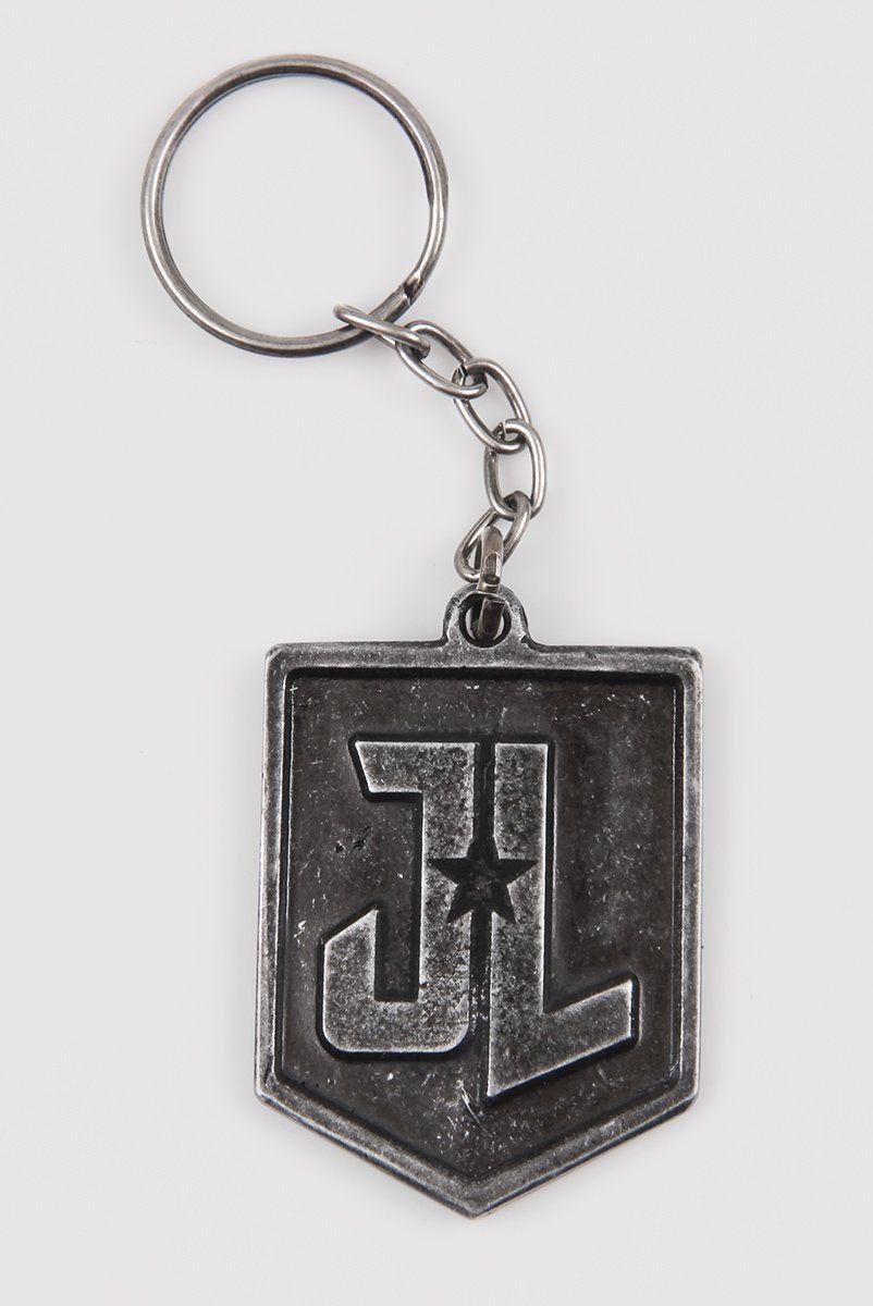 Chaveiro de Metal Liga da Justiça