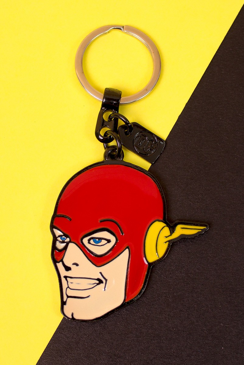 Chaveiro de Metal The Flash Face