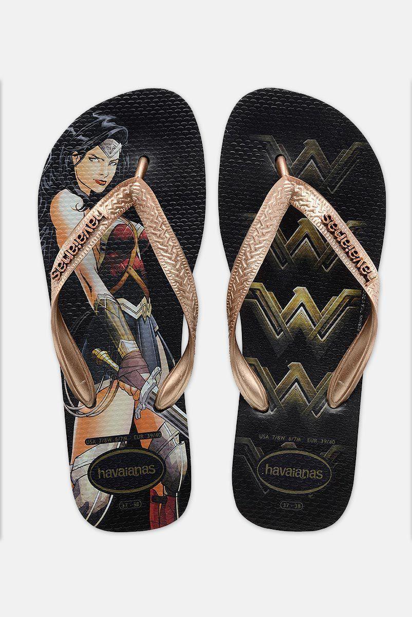 Chinelo Feminino Batman Vs Superman Warrior Diana