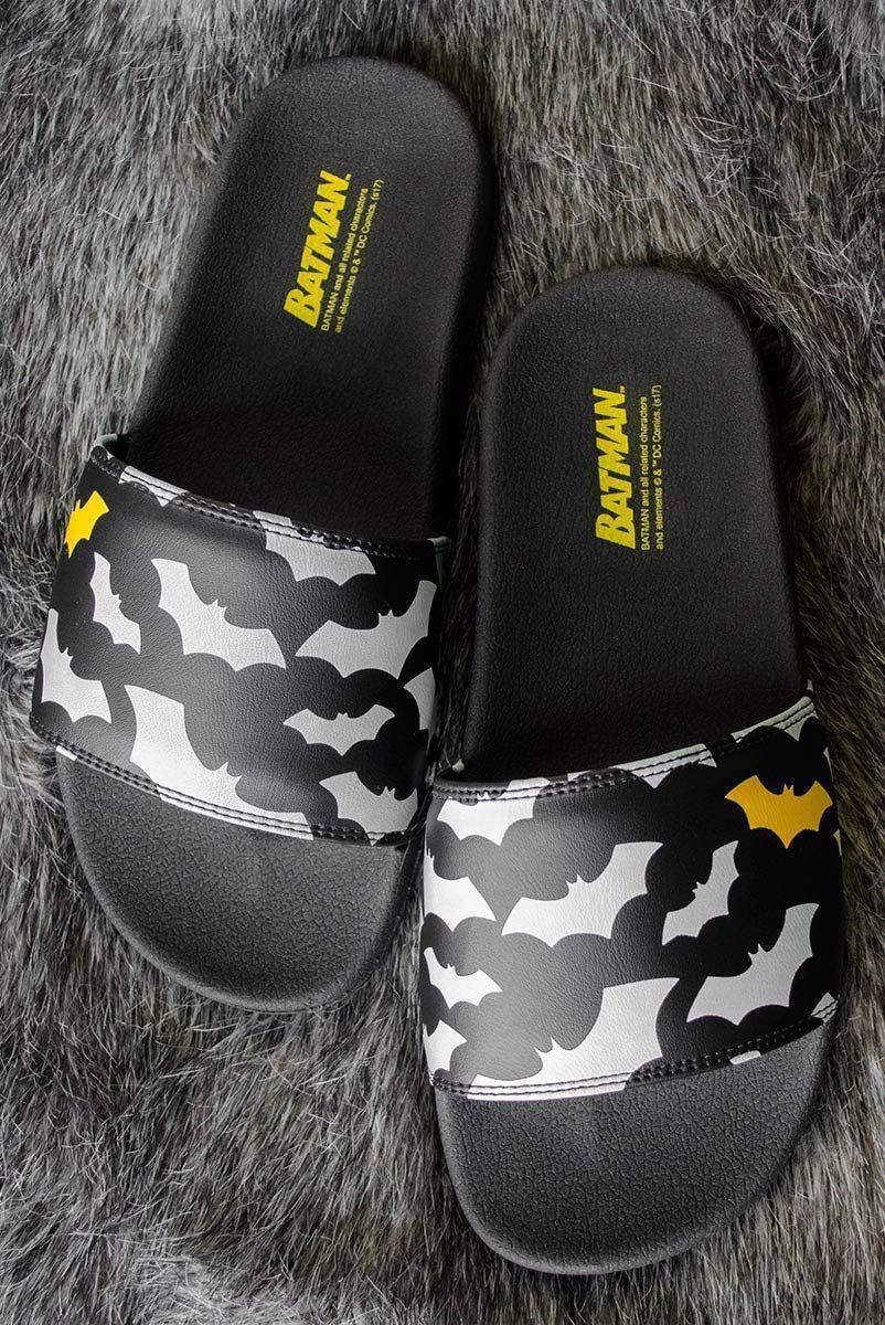 Chinelo Slide DC Comics Batman Bats
