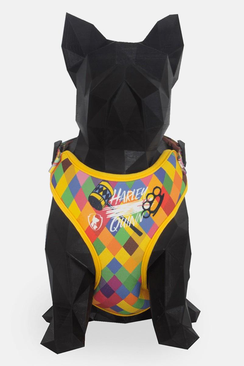 Coleira Peitoral Air para Cães Harley Quinn
