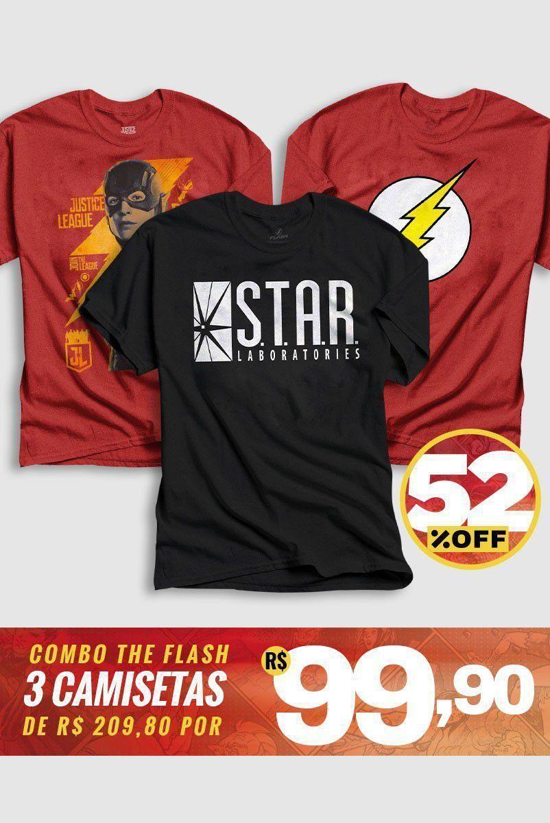 Combo Masculino The Flash