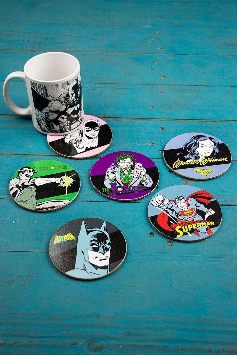 Porta Copos DC Comics Personagens