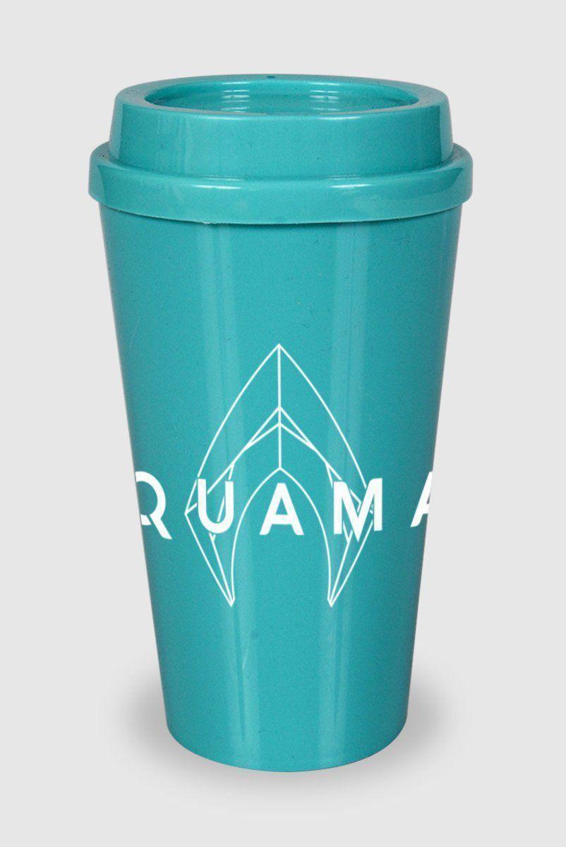 Copo Bucks Aquaman Logo