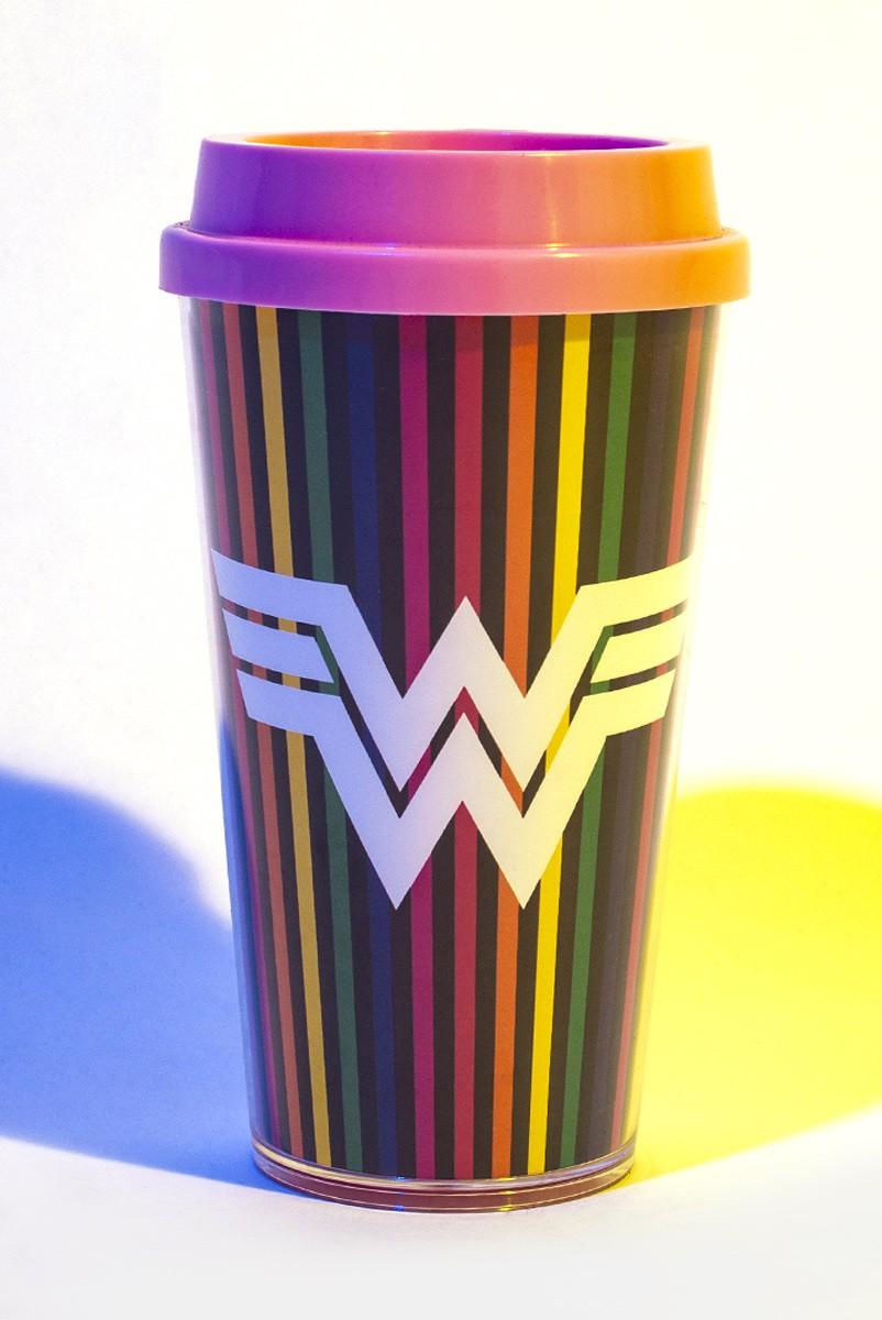 Copo Duplo Bucks Mulher Maravilha 1984 WW84 Colors
