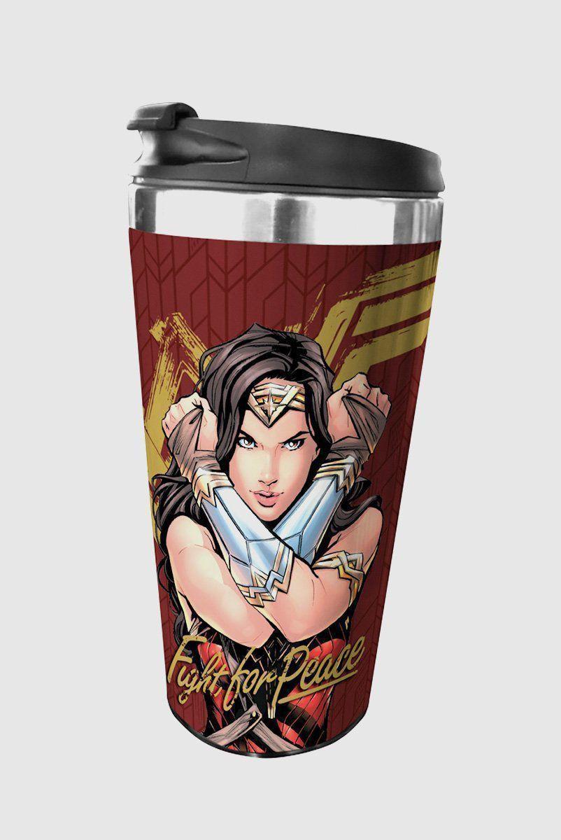 Copo Térmico Wonder Woman Movie Fighter