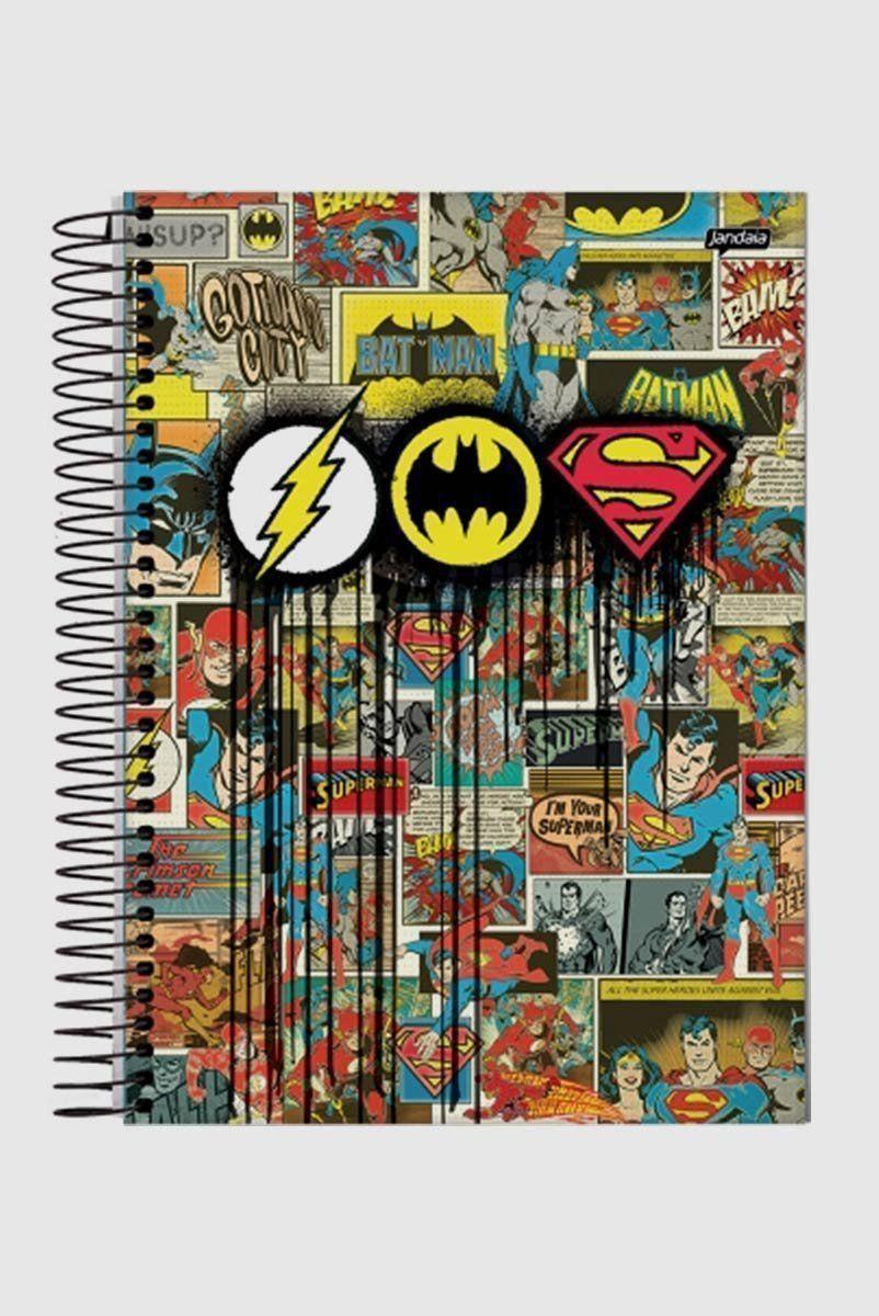 Caderno Triplo Logo Quadrinhos 1 Matéria