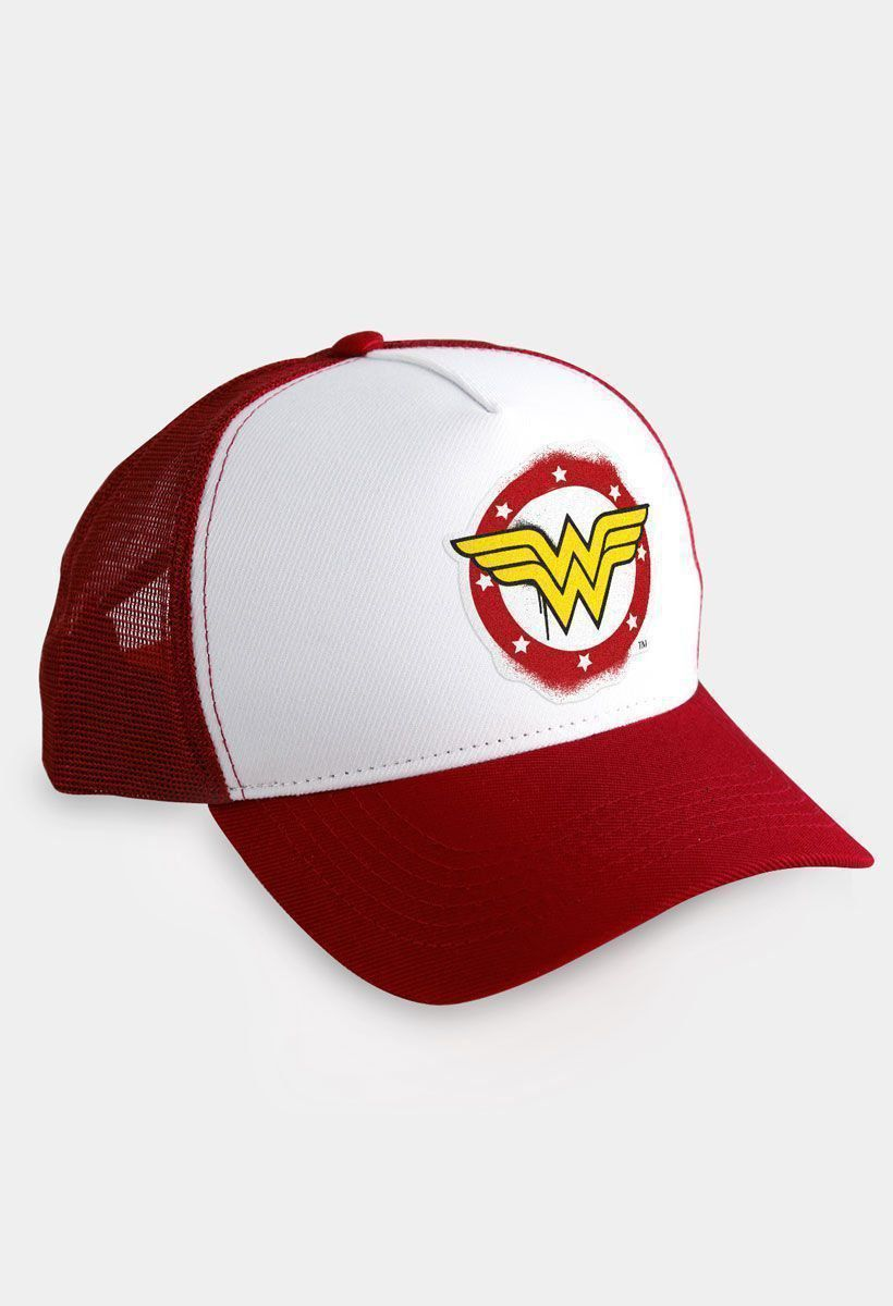 Boné Trucker Wonder Woman Logo