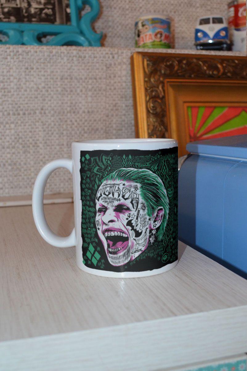 Caneca Esquadrão Suicida The Joker Prince of Crime