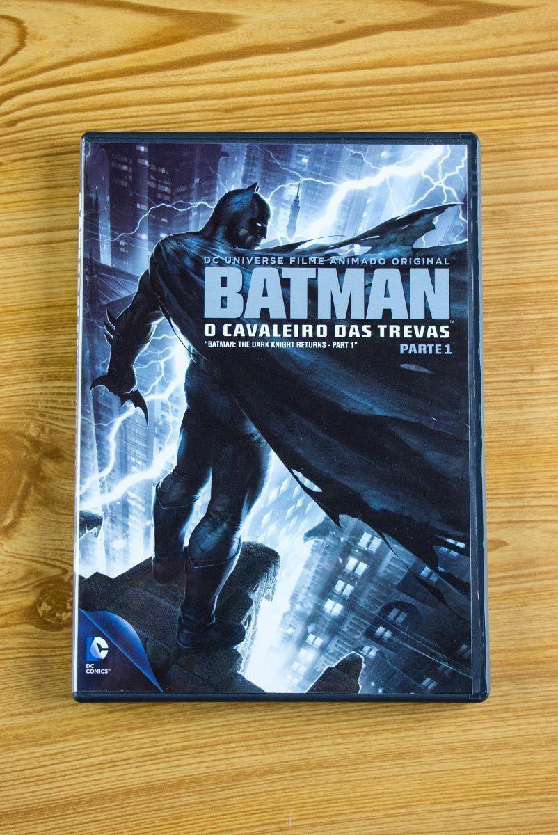 DVD Batman: Cavaleiro Das Trevas Parte 1