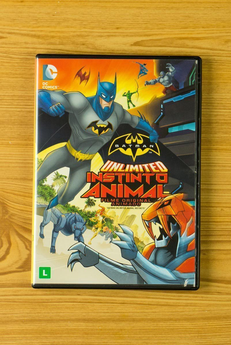 DVD Batman Unlimited Instinto Animal