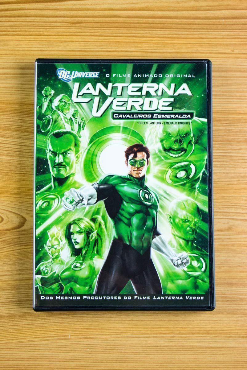 DVD Lanterna Verde: Cavaleiros Esmeralda