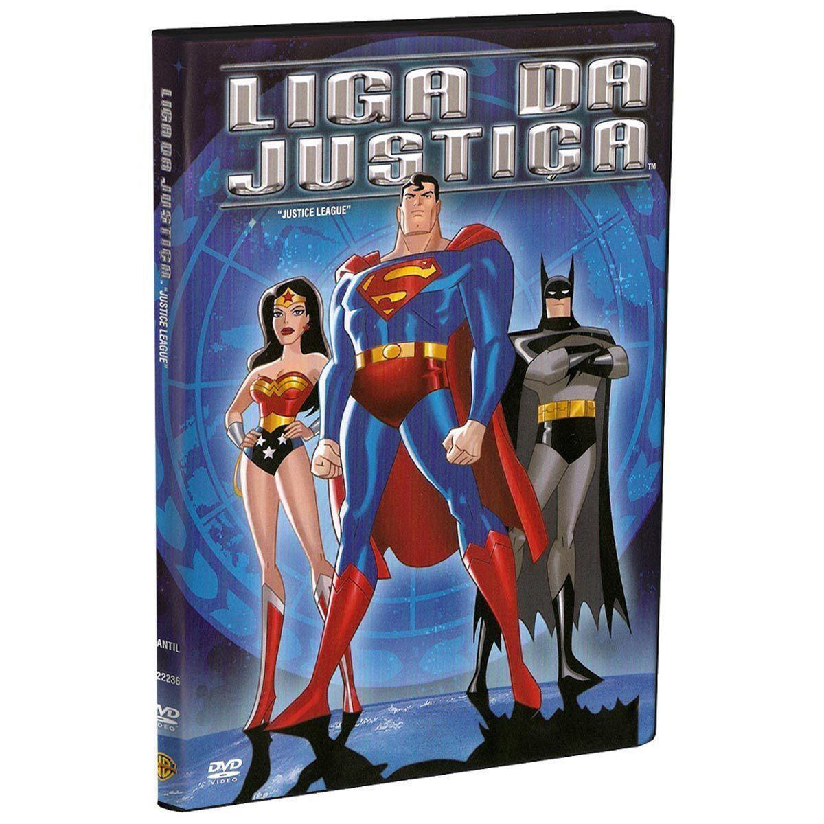 DVD Liga da Justiça