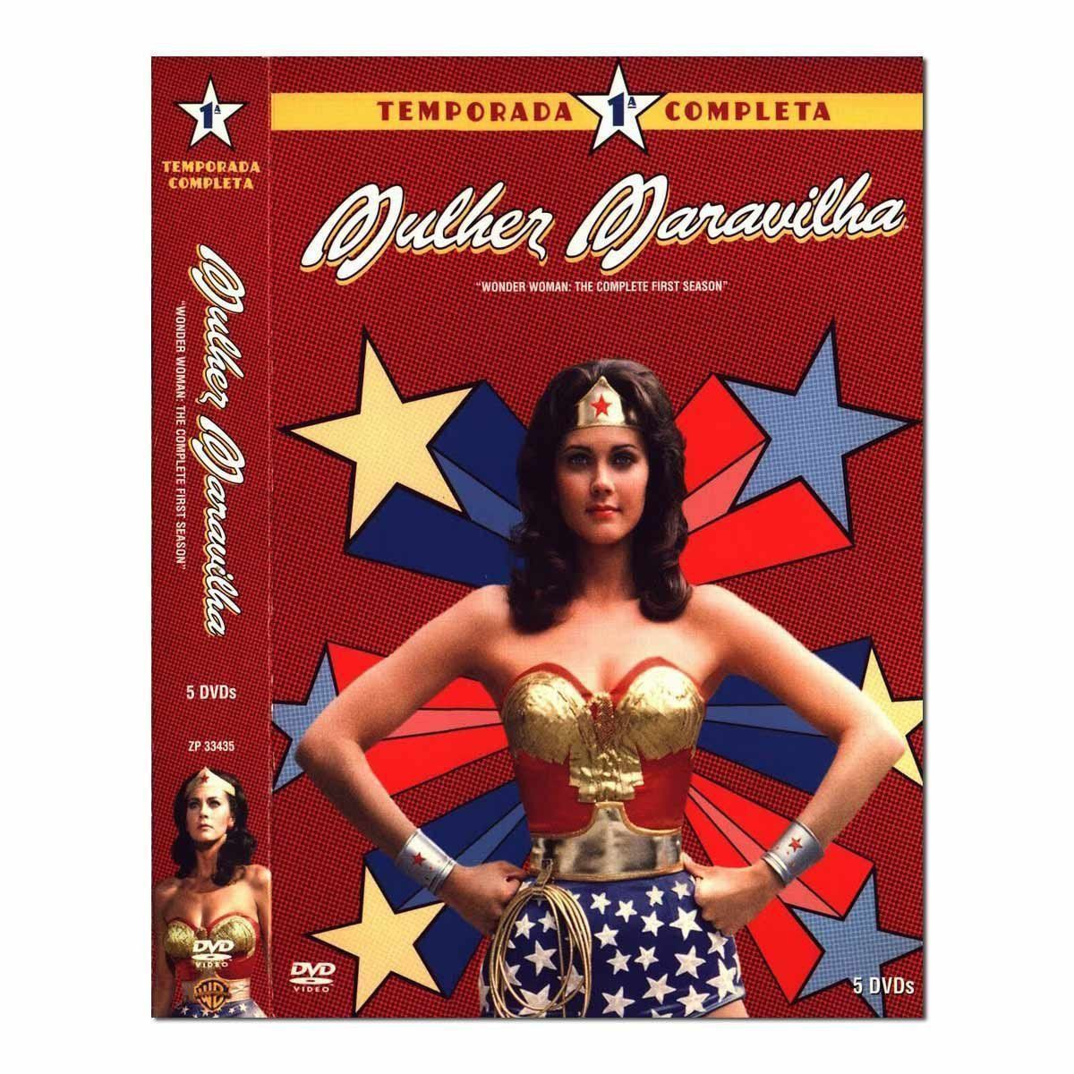 DVD Box Mulher Maravilha 1ª Temporada Completa