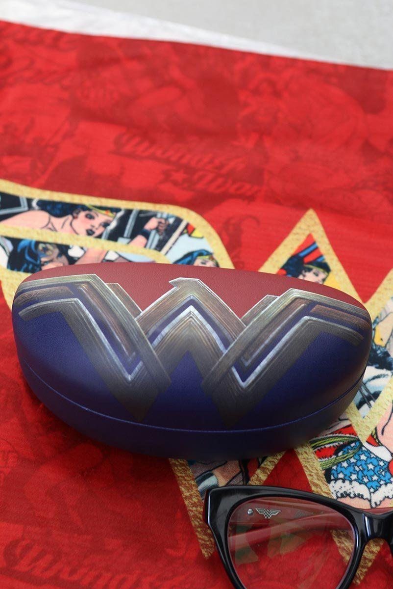 Estojo de Óculos Wonder Woman Fancy Logo