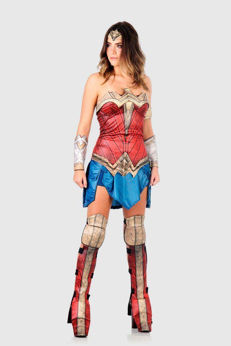 Fantasia Adulta Wonder Woman Movie
