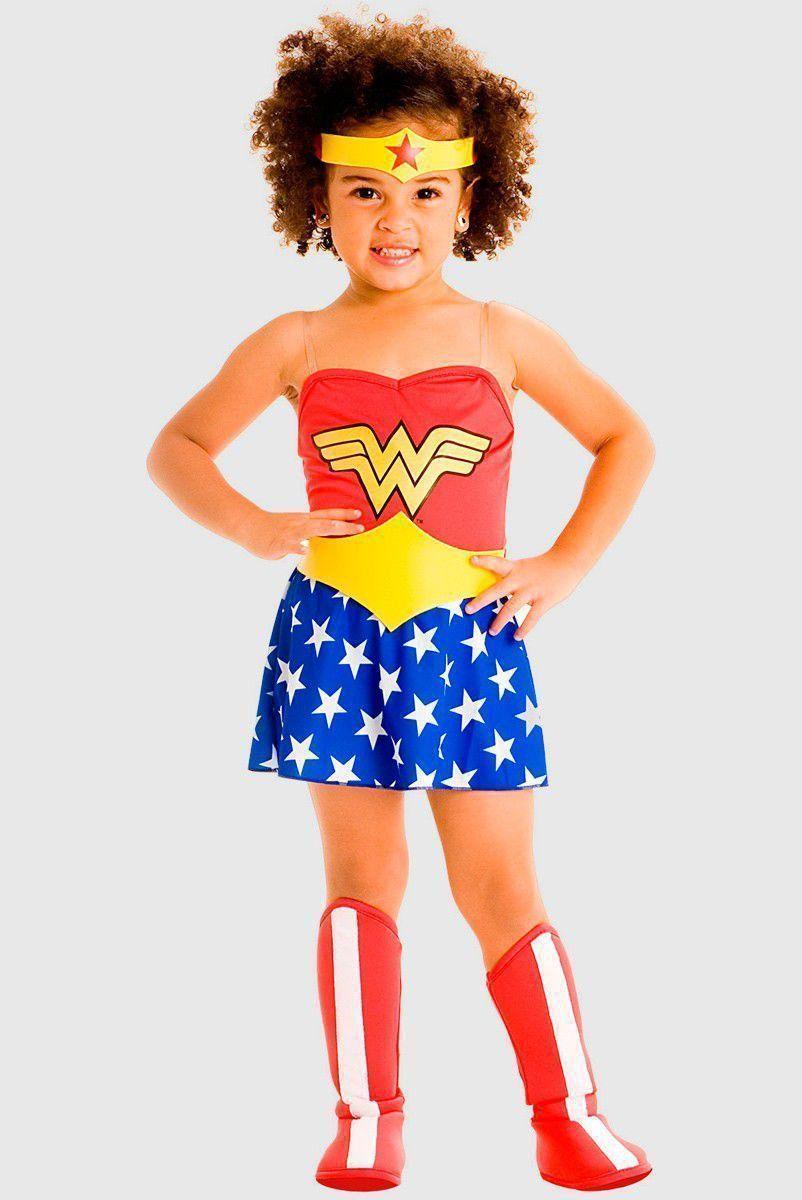 Fantasia Babê Wonder Woman