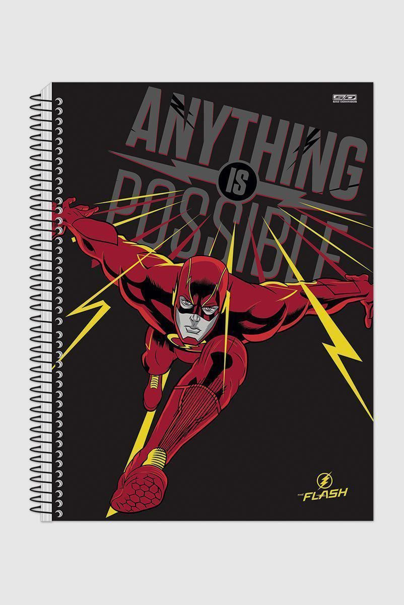 Caderno The Flash Anything is Possible 1 Matéria